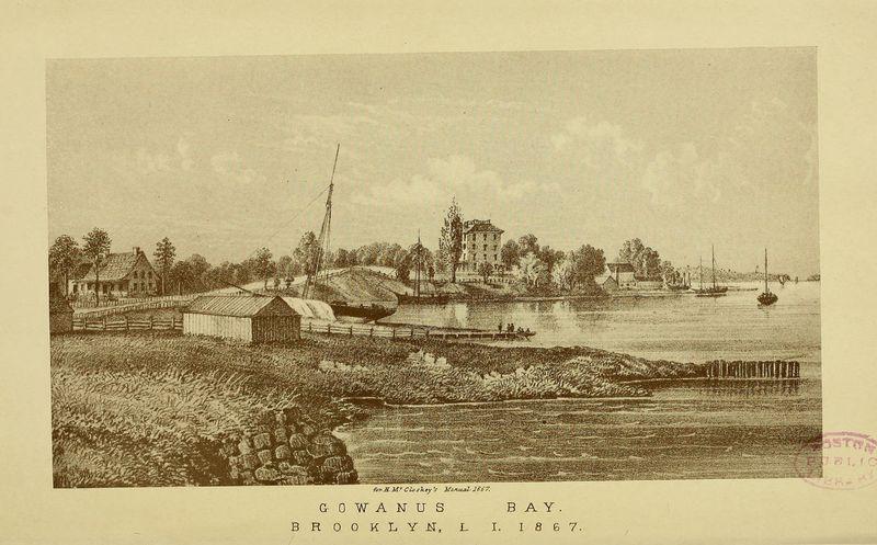 Gowanus Bay, Brooklyn L. I. -1867