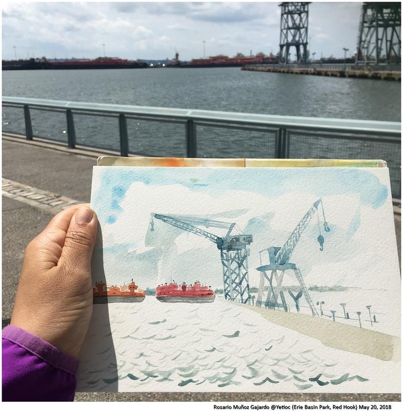 <strong>Roasrio Munoz Gajardo</strong>, Erie basin Park, Red Hook. May 20, 2018