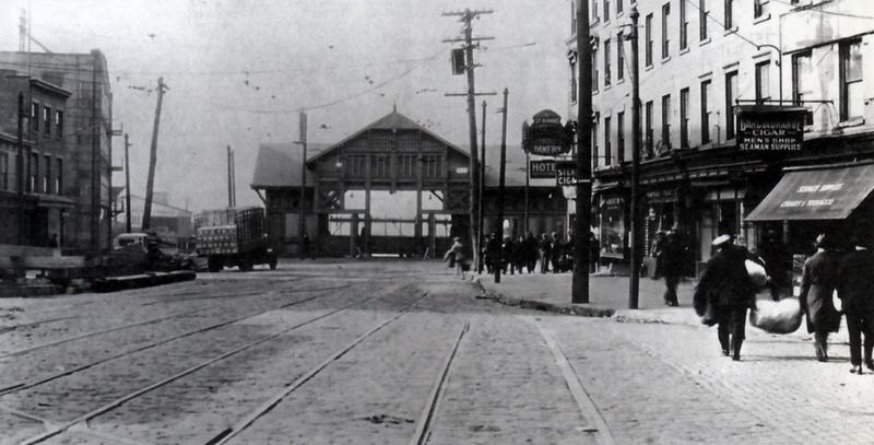 Hamilton Avenue Ferry Terminal, 1924