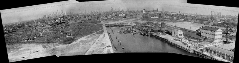 Red Hook Recreation Area:  birds eye view.  September 16, 1935