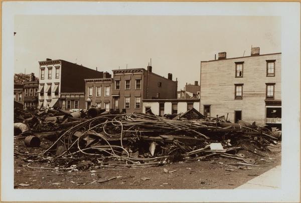 Dwight & Wolcott St., 1938