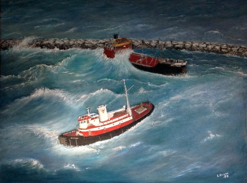MARY WHALEN, grounded off of Rockaway Bay.  E. G., 1978&lt;br /&gt;<br />