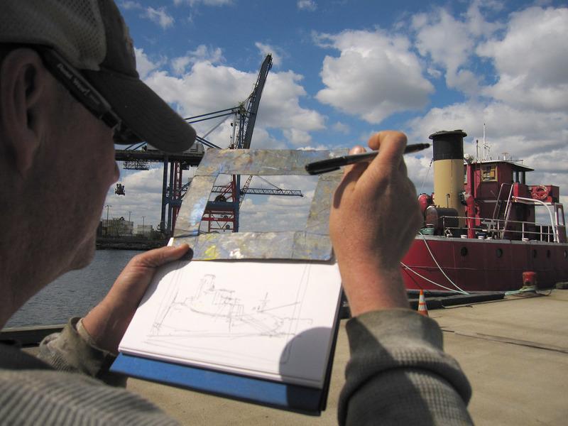 "Dennis Doyle paints MARY WHALEN, 2012 <a title=""Dennis Doyle"" href=""http://www.southstreetgallery.com/Dennis%20Doyle.html"" target=""_blank""><br /></a>"