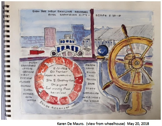 <strong>Karen De Mauro&nbsp;</strong>(view from the wheelhouse) May 20, 2018