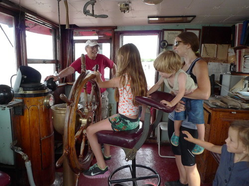 Mary A. Whalen wheelhouse, 2016