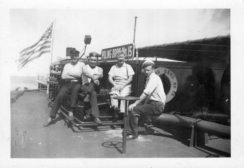 Poling Brother's crew including Paul Dyrland, father of Alf.
