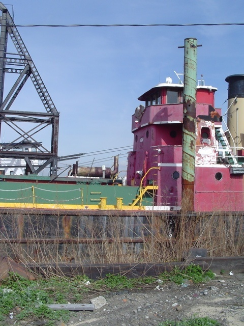 Tanker MARY A WHALEN, in the Erie Basin Bargeport