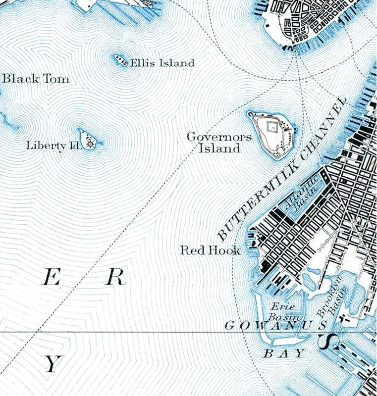 1888-1891 USGS Staten Island USGS