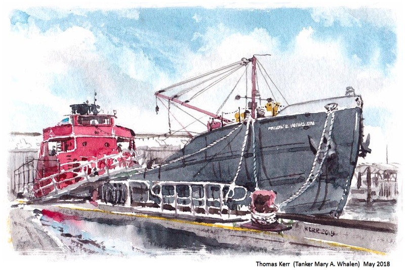 <strong>Thomas Kerr</strong> (Tanker Mary A. Whalen) May 20, 2018