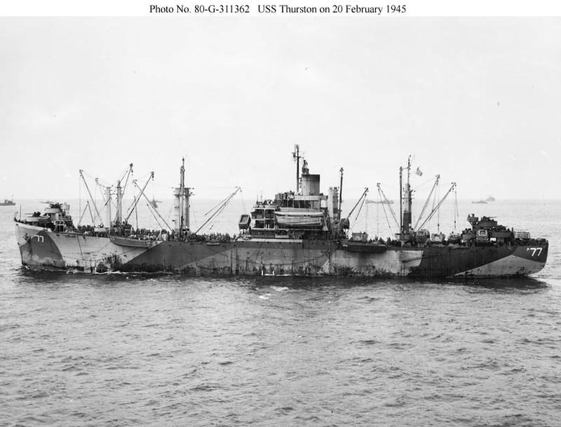 USS Thurston (AP-77)