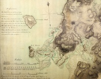 A Plan of the Environs of Brooklyn Showing the Position of the Rebel Lines and Defenses on the 27th of August, 1776. by George S. Sproule, 1781